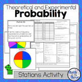 Probability - (Theoretical and Experimental) - Stations Ac