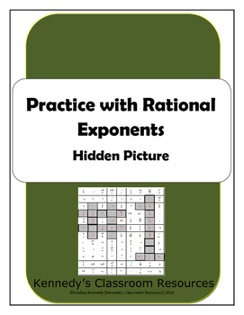 Practice with Rational Exponents - Hidden Picture
