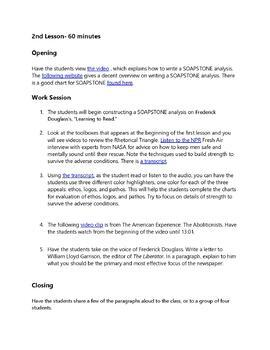 Free Essay: Learning to Read and Write (Fredrick Douglass Reading Responce)
