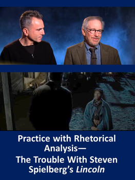 Practice with Rhetorical Analysis—  The Trouble With Steve