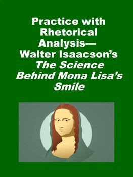 The Science Behind Mona Lisa's Smile: Practice with Rhetorical Analysis