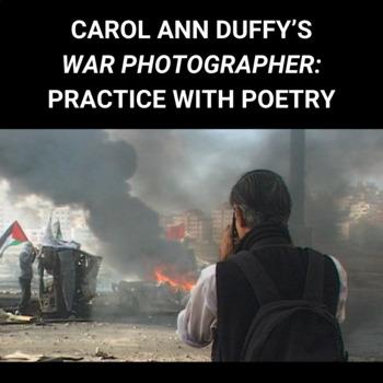 "Practice with Socratic Seminar:  Carol Ann Duffy's, ""War Photographer"""