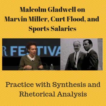 Malcolm Gladwell on Marvin Miller, Curt Flood & Sports Salaries