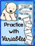 Practice with Variables!