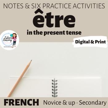Practice with être
