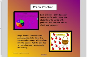 Practice with prefixes smart board lessons and activities