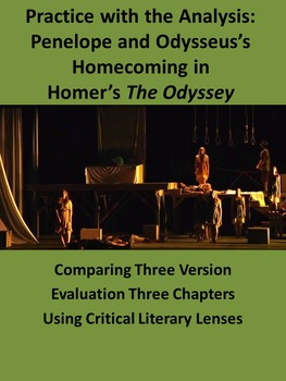 Practice with the Analysis: Homecoming in Homer's The Odyssey