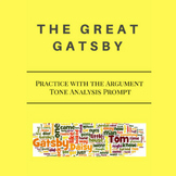The Great Gatsby: Practice with Tone Analysis