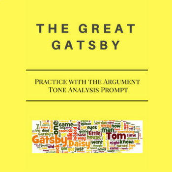 Practice with the Argument- Tone Analysis Prompt for The G