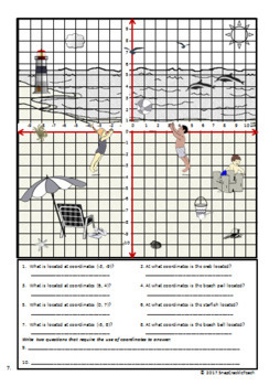 Practice with the Coordinate System