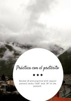 Practice with the Spanish Preterit - Regular verbs and -CAR,-GAR,-ZAR