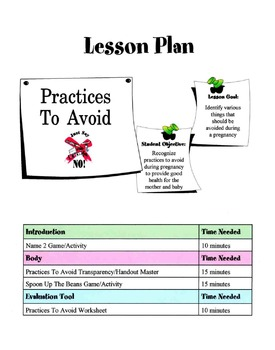 Practices To Avoid During Pregnancy Lesson