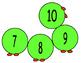 Practicing 1-1 Correspondence Counting Caterpillar