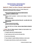 Subjunctive Situations: Practicing Adverbial Expressions P