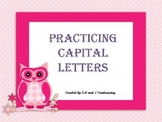 Practicing Capital Letters