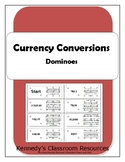 Practicing Currency Conversions - Dominoes