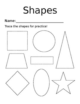 Practicing Drawing Shapes