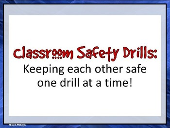 Classroom Safety & Drill Procedures PowerPoint Presentation