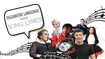 Practicing Figurative Language Through Song Lyrics
