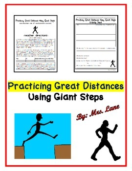 Practicing Great Distances Using Giant Steps
