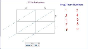 Practicing Lattice Multiplication!