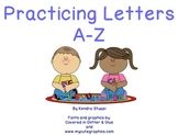 Practicing Letters A-Z flipchart