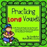 Long Vowel Practice for Grades K-2