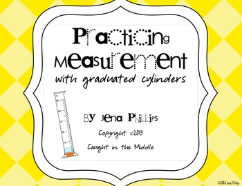 Practicing Measurement with Graduated Cylinders