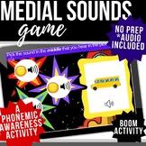 Practicing Medial Sounds Digital Boom Flashcards - Distanc