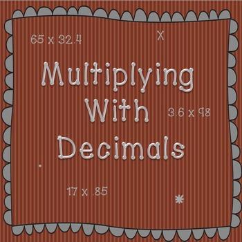 Practicing Multiplication with Decimals