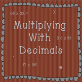 Practicing Multiplication with Decimals