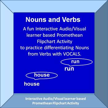 Practicing Nouns and Verbs with Vocals  Promethean Activinspire Activity
