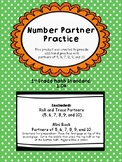 Practicing Number Partners of 5, 6, 7, 8, 9, and 10