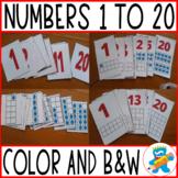 Practicing Number Sense, 1 to 20.