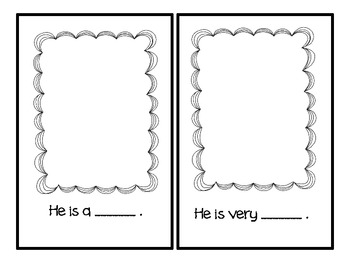 """Practicing Personal Pronouns """"He"""""""