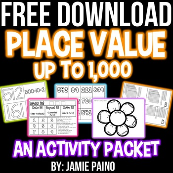 Practicing Place Value- FREEBIE