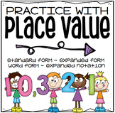 MATH REVIEW: Place Value Forms