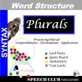 Practicing Plurals  - Games & Worksheets for Managing Morphemes