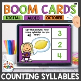 Practicing Syllables Boom Cards