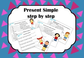 Practicing the Present Simple Step by Step