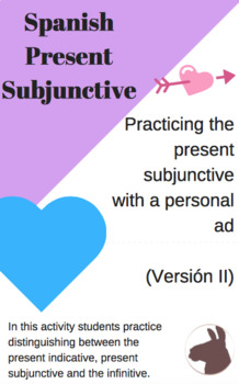 Practicing the Present Subjunctive with a Personal Ad (II)