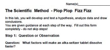 Practicing the Scientific Method