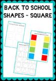 Practicing worksheet - Square