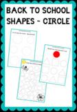 Practicing worksheets - Circle