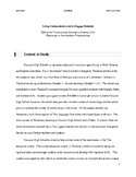 Practicum (Paper) on Coding in the Classroom