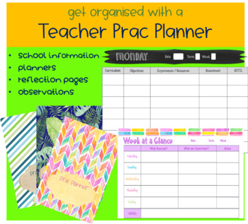 Practicum Planner - 4 Different Designs