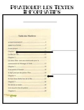 Pratiquer les Textes Informatifs