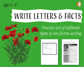 Practise Lots Of Different Types Of Non Fiction Writing (6