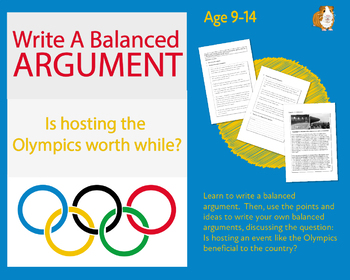 Practise Writing A Balanced Argument: Is Hosting The Olympics Worthwhile? (9-14)