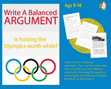 Practise Writing A Balanced Argument: Is Hosting The Olymp